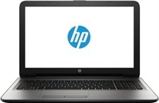 HP 15AY049NE Laptop - Core i3 2GHz 4GB 500GB Shared Win10 15.6inch HD Silver