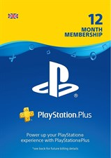 Playstation Plus Membership 12 Months UK