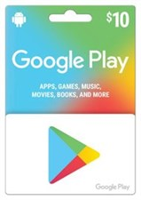 Google Play Gift Card $10