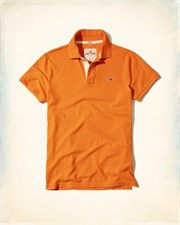 Hollister California Stretch Pique Polo