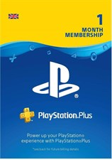 Playstation Plus Membership 1 Months UK