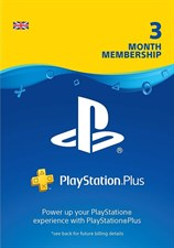 Playstation Plus Membership 3 Months UK
