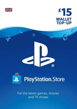 PlayStation PSN Card 15 GBP Wallet Top Up