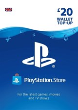 PlayStation PSN Card 20 GBP Wallet Top Up