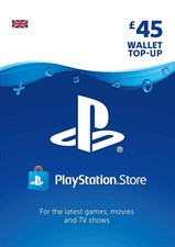 PlayStation PSN Card 45 GBP Wallet Top Up