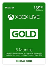 Xbox Live 6 Months Membership International