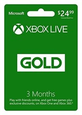 Xbox Live 3 Months Membership International